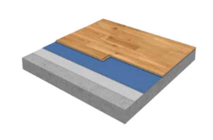 Фото. Схема плавающего паркетного пола
